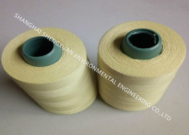 1313 Aramid High Temperature Sewing Thread , Low Shrinkage White Sewing Thread