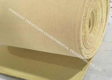 4 Ply Solid Weave 4.0 Kg / M2 Polyester Air Slide Fabric
