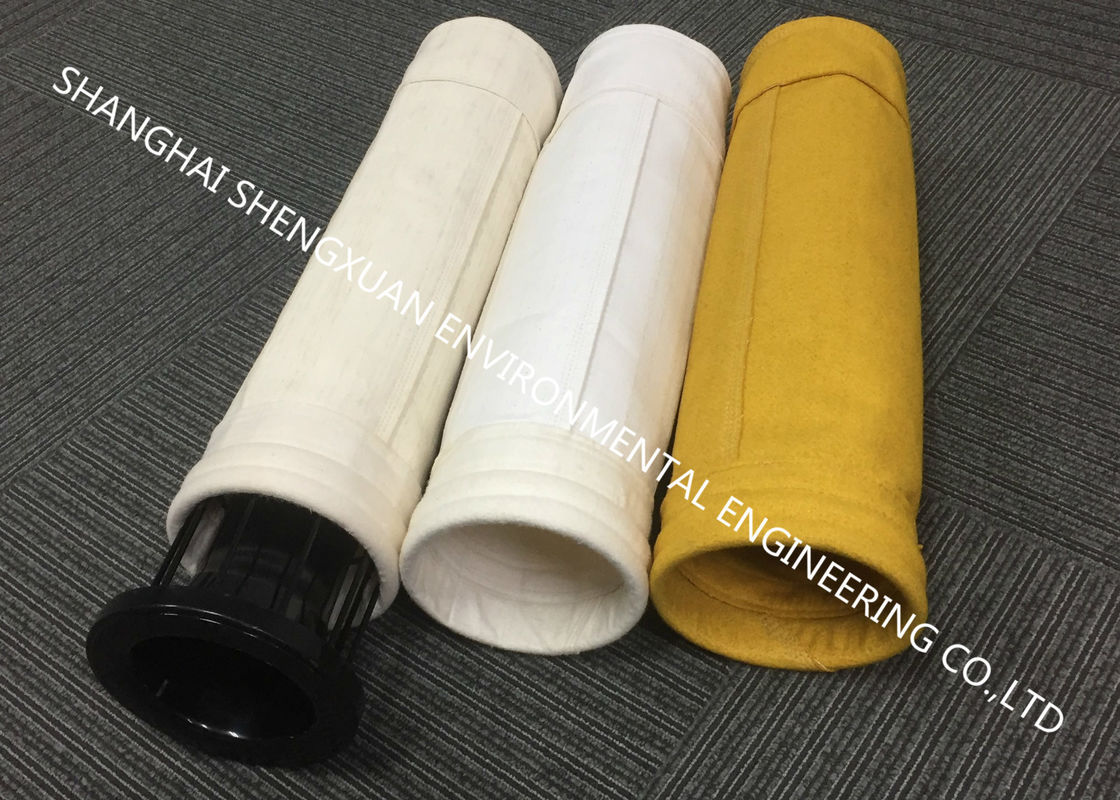Industrial Dust Filtration Dust Collector Filter Bags With High Temperature Resistance
