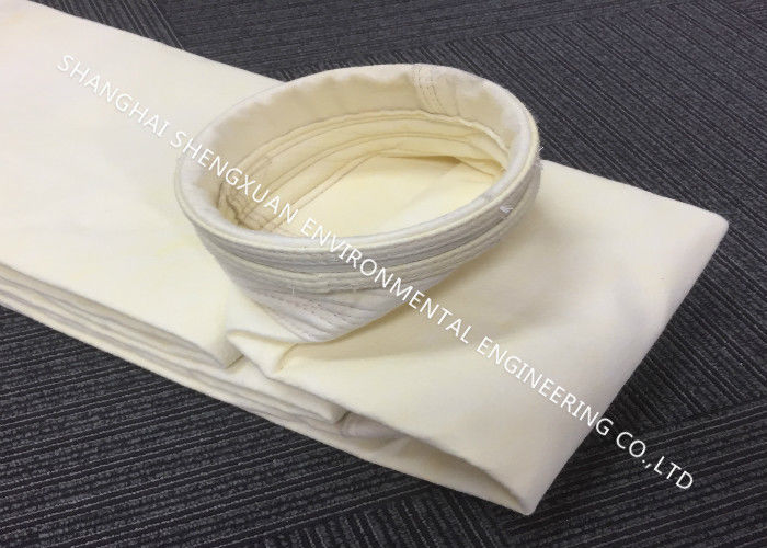 Industrial Dust Collector Filter Bags , Easy Cleaning P84 / PPS Filter Bags
